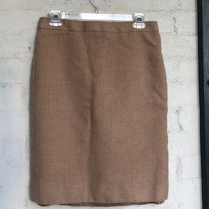 J. Crew wool pencil skirt
